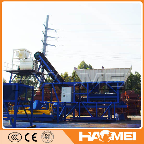 High Quality Mobile concrete batch plant price
