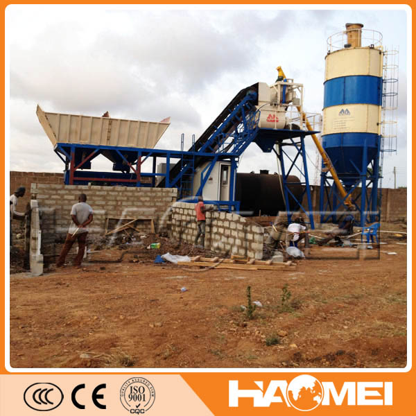 China Goid Suppliers Mobile Concrete Batching Plant For Sale