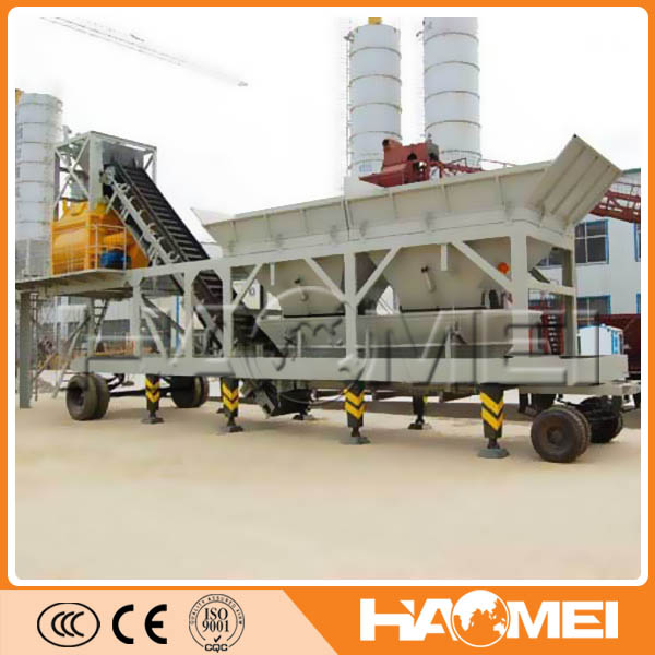 Maintenance Of mobile concrete batching plant for sale